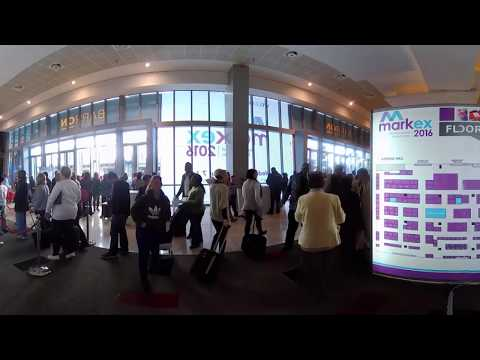 360 Video Singer at Markex Sandton Convention Center