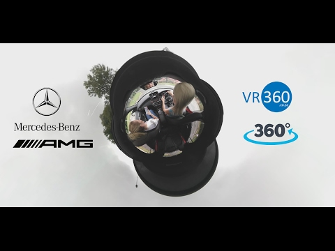 360 Degree Video - Mercedes-Benz A Class 45 AMG Test Drive