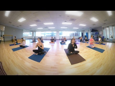 Virtual Reality: Yoga Class at Google