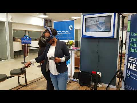 Virtual Reality Activation - Standard Bank