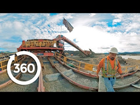 Gold Rush: Follow the Gold | Sluicebox (360 Video)
