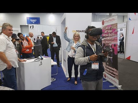 Virtual Reality Cape Town AfricaCom 2017