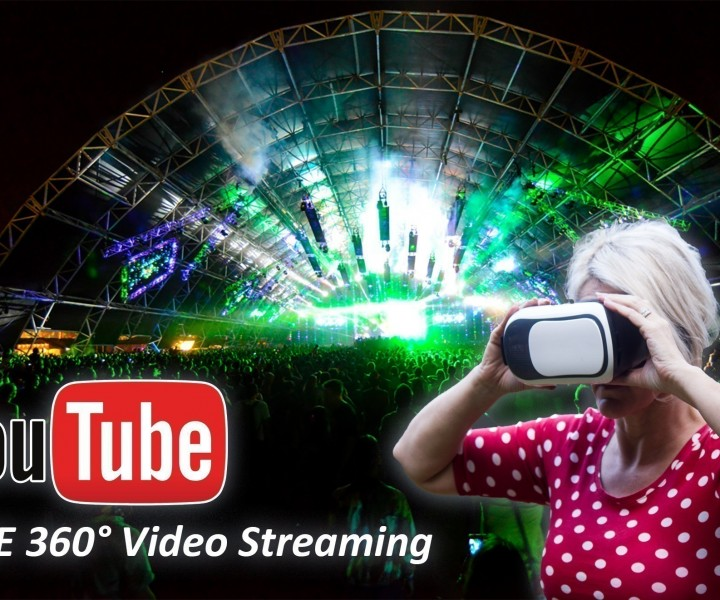 youtube live 360 video