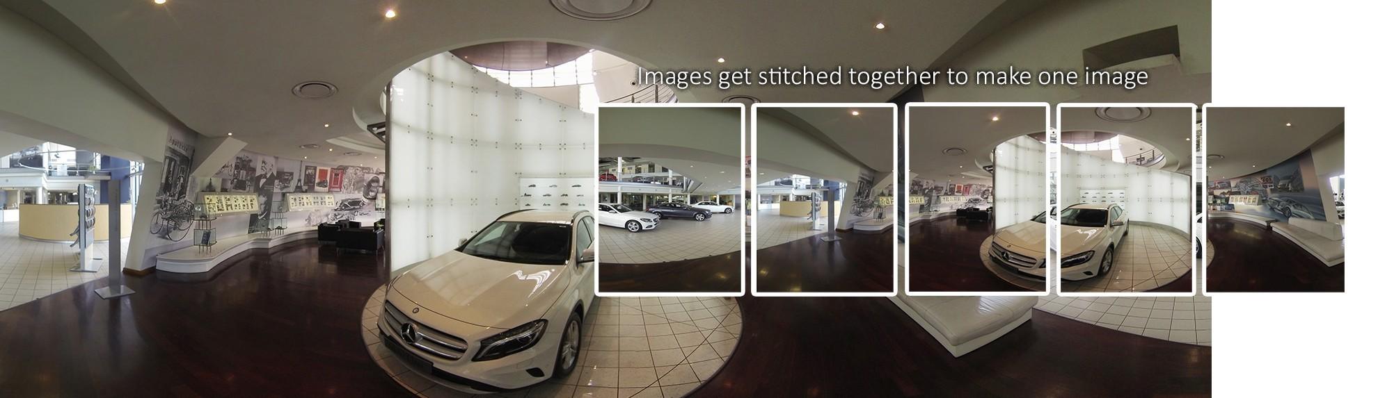 360 image stitching