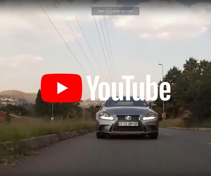 lexus test drive video